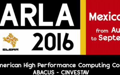 Llamado para Envío de Artículos CARLA 2016: Conferencia Latino-Americana de HPC (plazo extendido)