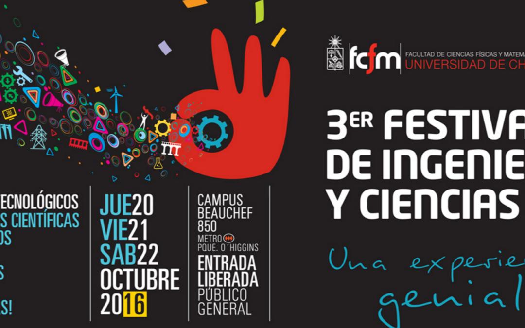 3er Festival de Ingeniería y Ciencias de la Universidad de Chile