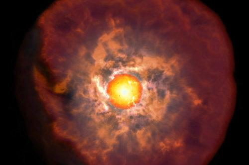 Científicos descubren momento crítico previo a la muerte de las estrellas