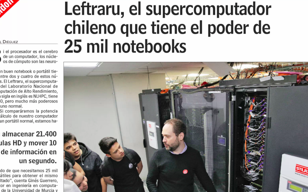 Leftraru, the Chilean supercomputer that has the power of 25 thousand notebooks