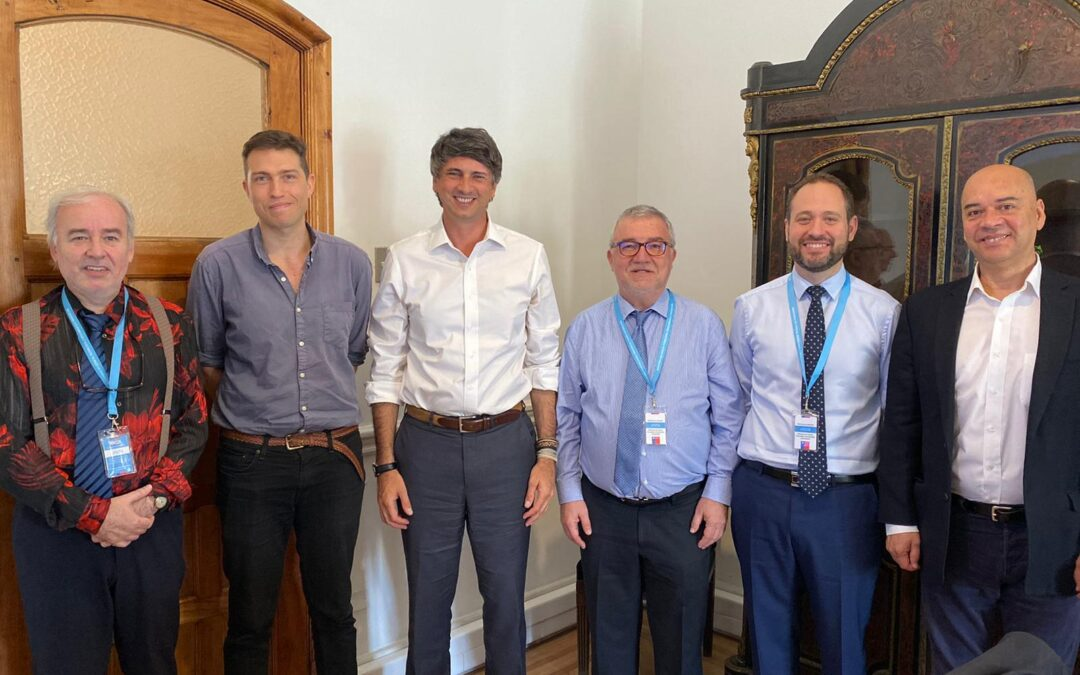 Recibimos la visita de Mateo Valero, director del Barcelona Supercomputing Center